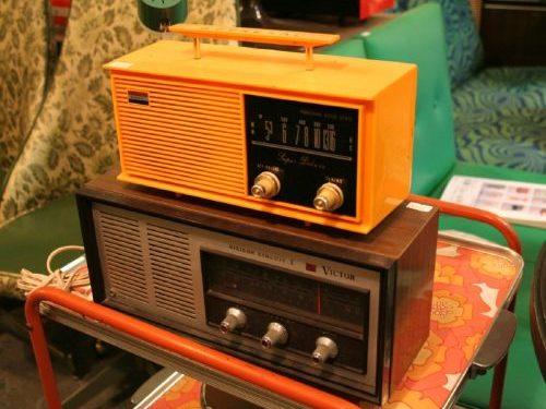 古いラジオやステレオ
