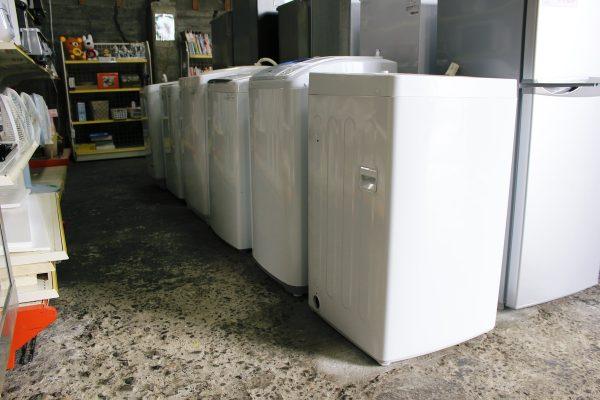 洗濯機や雑貨